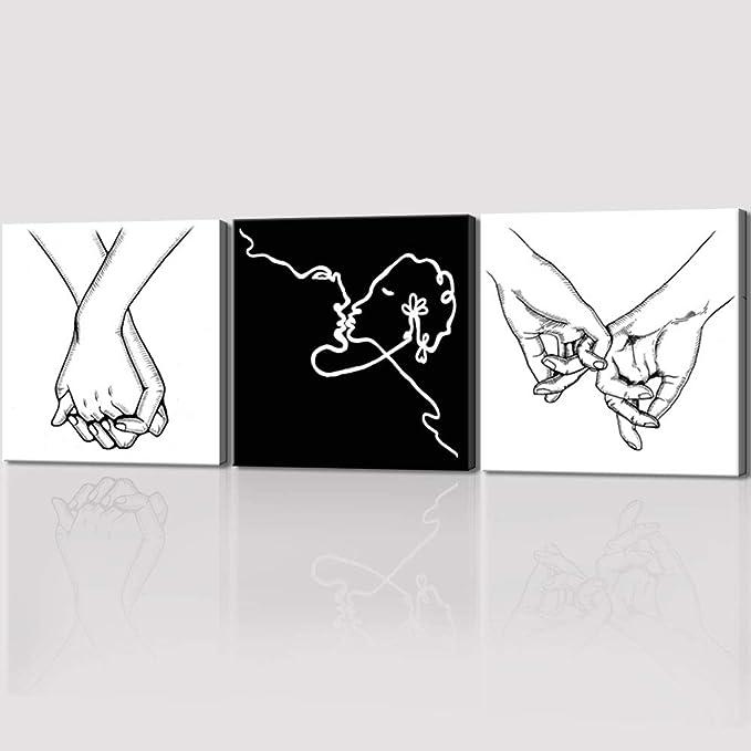 Multiracial Hands Together Art//Canvas Print Home Decor P Wall Art Poster