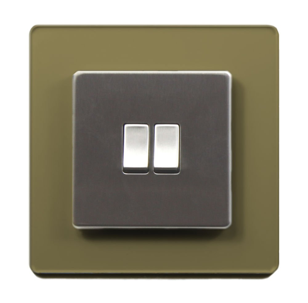 Single Light Switch Surround Acrylic Finger Plate Panel Socket - 59 COLOURS – 25% OFF WHEN YOU BUY 2 OR MORE Plastic Online Ltd