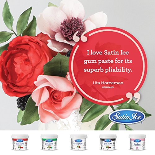 Satin Ice Red Gum Paste, 2 Pounds, Decorative Sugar Icing by Satin Ice (Image #3)