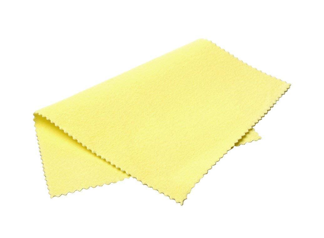 Sunshine Polishing Cloths, Bulk Pack, for Silver, Gold, Brass and Copper Jewelry (25 Pack) by Sunshine