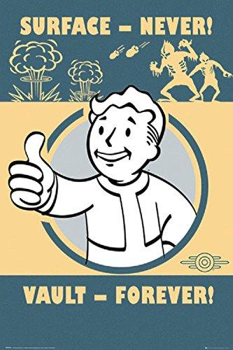 Fallout 4 - Pip-Boy Slogan 24x36 Poster
