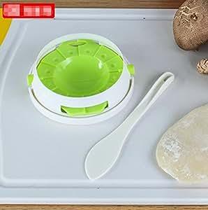 For dumplings, and dumpling mould, filling pick pack, dumpling kitchen, three-in-one, dumpling clamp tool , light green
