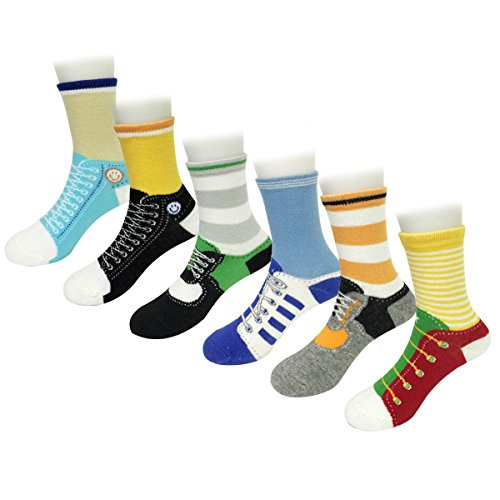 Wrapables Sporty Shoe Socks Set