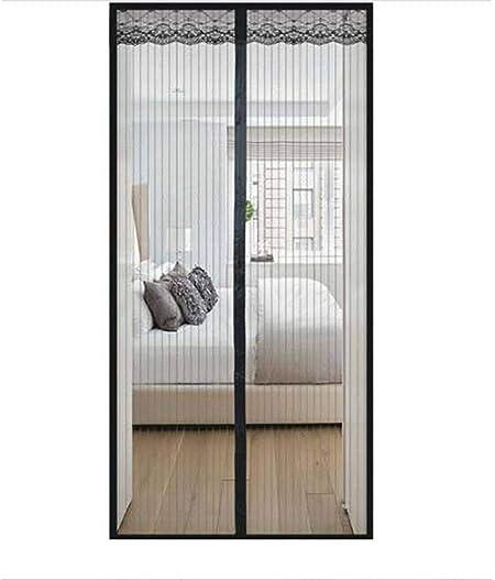 Mosquitera Puerta Magnetica, Mosquiteras magnéticas, Cerrado automáticamente, Plegable, Tejido Súper Fino para Dejar Pasar El Aire, para pasillos, Puertas, Patio - 85x205cm: Amazon.es: Hogar