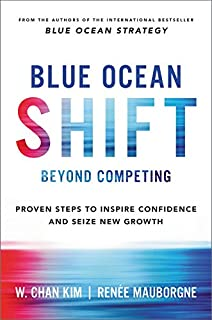 Book Cover: Blue Ocean Shift: Beyond Competing - Proven Steps to Inspire Confidence and Seize New Growth