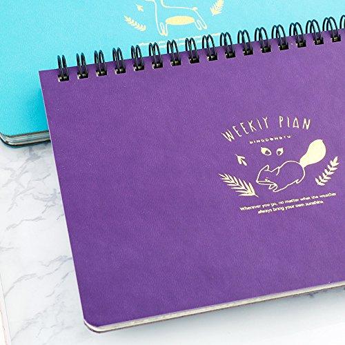 DHmart Lovely Kawai flamingo Calendar Mini Table Calendars Desk Calendar Office School Supplies 2018 Calendar Escolar Papelaria by DHmart (Image #4)