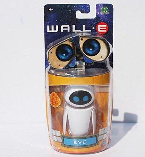 Plush Eva - 2 Styles Optional Cartoon Movie Wall E Toy Walle Eve Figure Toys Wall-E Robot Figures Dolls (Eve 1pc/lot)