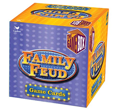 Family Feud Trivia Box Card Game - Family Dvd Game
