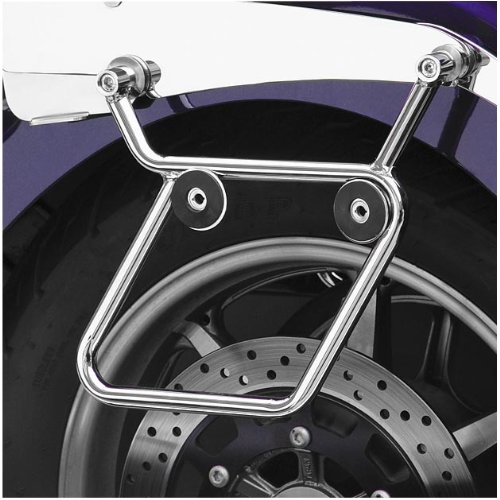 National Cycle Cruiseliner Hard Saddlebags Chrome Mount Kit for Honda 2002-06 V - One Size - One Size