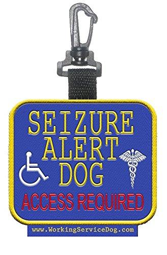 Sided Seizure Alert Dog Identification
