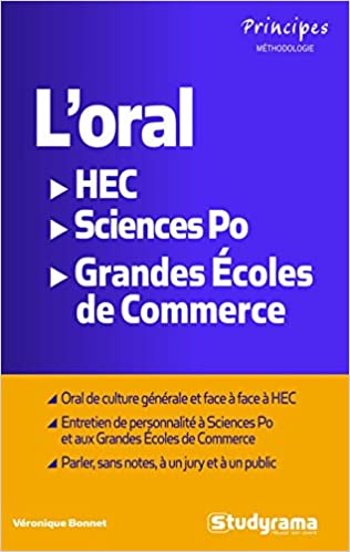 Amazon.fr - L oral HEC, Sciences Po, Ecoles de commerce - Véronique Bonnet  - Livres 08178f74e7f6