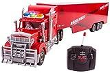 """Best Semi Trucks - Toy Semi Truck Trailer 23"""" Electric Hauler Remote Review"""
