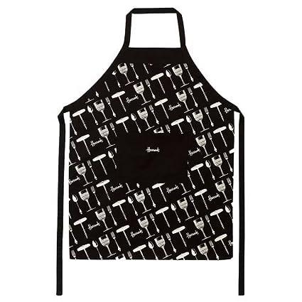 Harrods Cocina Delantal De Cocina 100% algodón: Amazon.es: Hogar