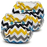 Lil Joey All-In-One Cloth Diaper, Charlie, Pack of 2