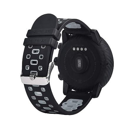 Diadia - Correa de Silicona para Reloj Inteligente Huawei Amazfit Stratos 2/2S, Ligera, con ventilación, Suave