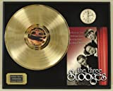 Three Stoogies Limited Edition Gold LP and Clock Record Display. Only 500 made. Limited quanities. FREE US SHIPPING