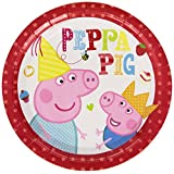 Peppa Pig Party Time Plates 8pk