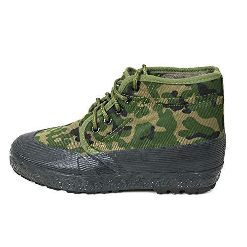 KMJBS Zapatos de Hombre/Socorro Seguro Laboral Zapatos Zapatos De Vestir De Formación Militar Camuflaje Calidez Dentro Casetas De Obra Hombres Verde Treinta ...