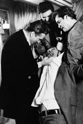Robert De Niro and Joe Pesci and Ray Liotta and Frank Vincent in Goodfellas Billy Batts beating scene 24x36 Poster (Best Joe Pesci Scenes)