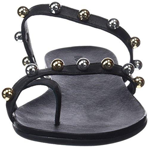 Tongs Femme Inuovo 8450 black Schwarz xzz5EqHTw