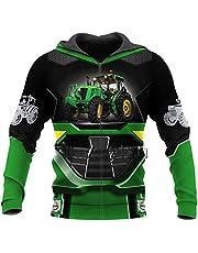Okener.F Mooie Tractor 3D Gedrukt Jas Unisex Harajuku Pullover Hoodie Sweatshirt