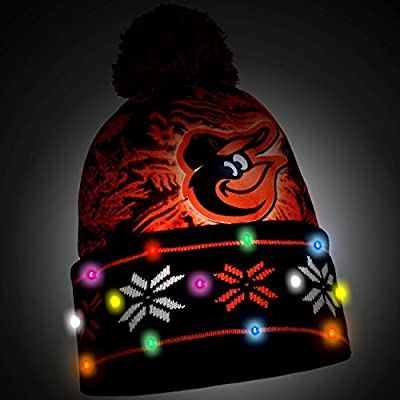 MLB Baltimore Orioles Light Up Knit Hat