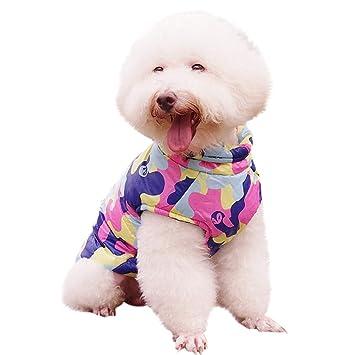 warme Hund Pullover Cat Kleidung Haustier Mantel f/ür Welpen Small Medium Large Dog Bluelucon Haustier Katze Hund Pullover