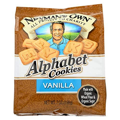 Newmans Own Organics Alphabet Vanilla Cookies (6 x 7 Oz)