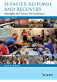 Disaster Response and Recovery: Strategies and Tactics for Resilience