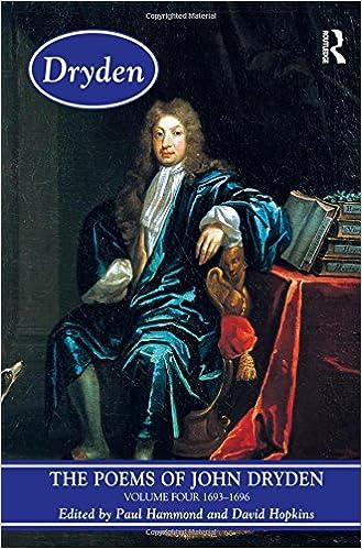 Como Descargar Libro Gratis The Poems Of John Dryden: Volume Four: 1686-1696: 1693-1696 V. 4 Epub Ingles