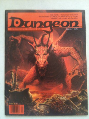 Dungeon Magazine Adventure for TSR Role-Playing Games Issue 1