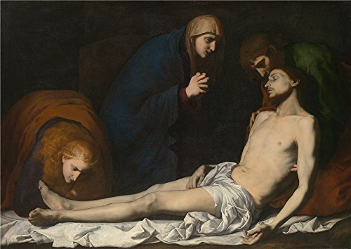 Costume National Homme Suit Quality (The Polyster Canvas Of Oil Painting 'Jusepe De Ribera The Lamentation Over The Dead Christ ' ,size: 12 X 17 Inch / 30 X 43 Cm ,this Cheap But High Quality Art Decorative Art Decorative Prints On Canvas Is Fit For Living Room Decoration And Home Decor And Gifts)