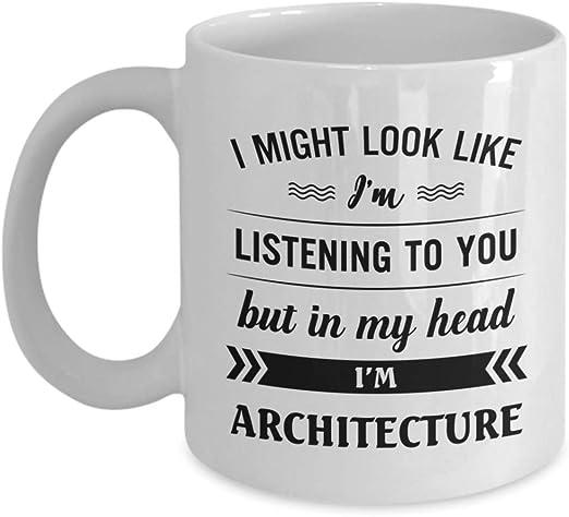 I/'M LISTENING BUT IN MY HEAD I AM WALKING MY PUG Novelty Printed Mug Gift