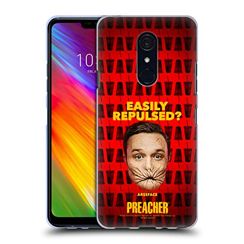 Official Preacher A Face Season 3 Character Art Soft Gel Case for LG G7 Fit/Fit+