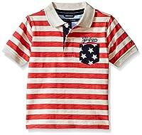 Tommy Hilfiger Boys' Striped Short-Sleev...
