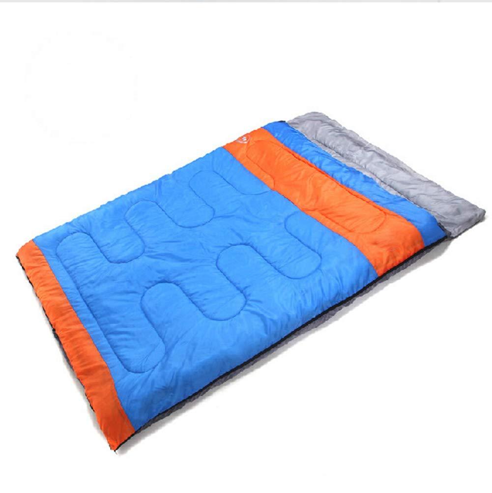 JTYX Schlafsäcke Erwachsene verdoppeln Paar Frühlings Winter im Freien kampierenden Schlafsack