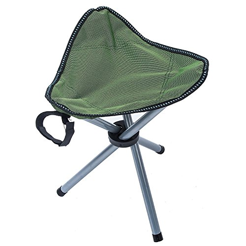 Camping Tripod Stool Folding Ultralight Slacker Chair for Camping, Backpacking, Hiking, Mountaineering