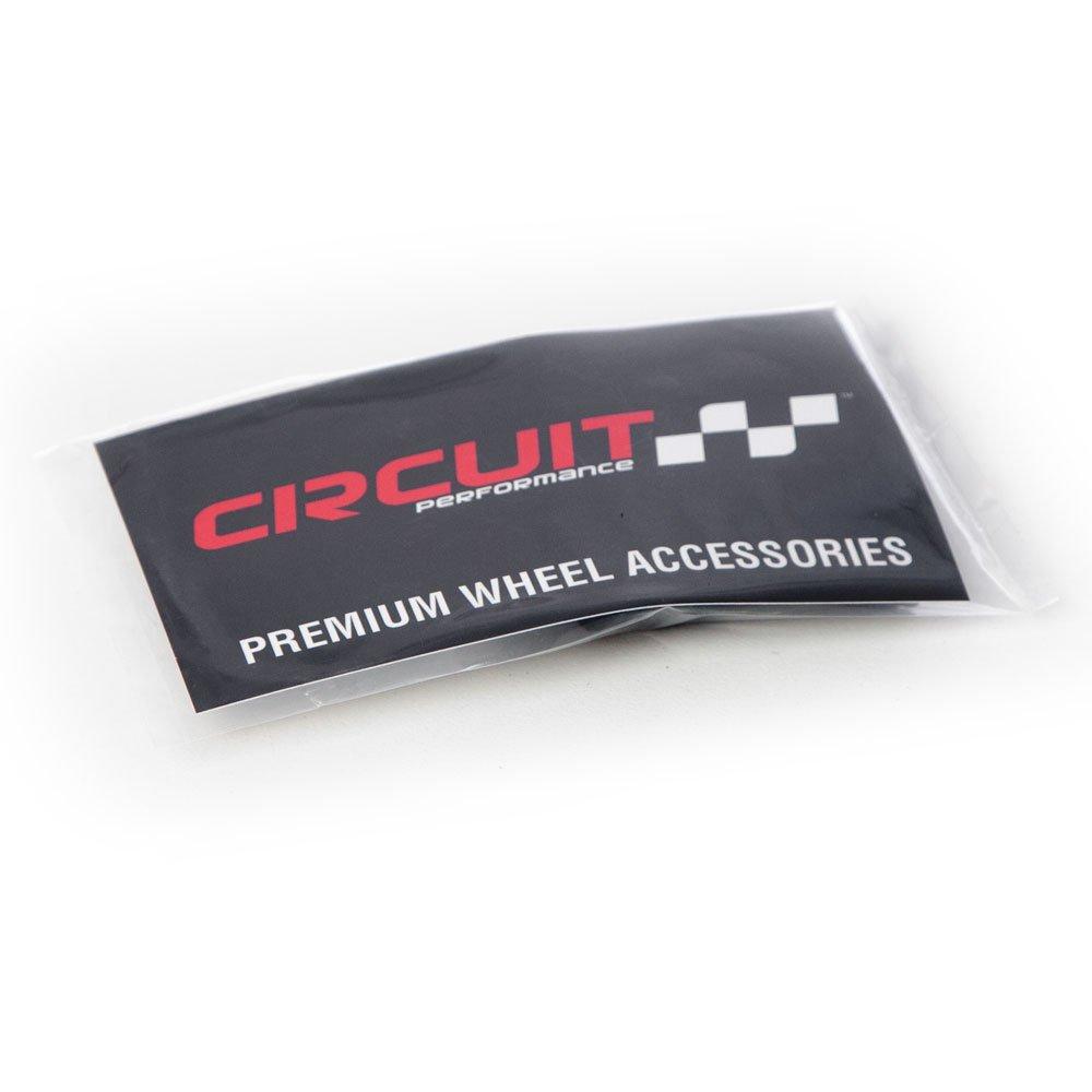 Circuit Performance Chrome Rubber Valve Stems TR414 38mm 12 Pieces