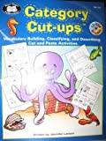 img - for Category Cut-ups: Vocabulary Building, Classifying, and Describing Cut and Paste Activities book / textbook / text book
