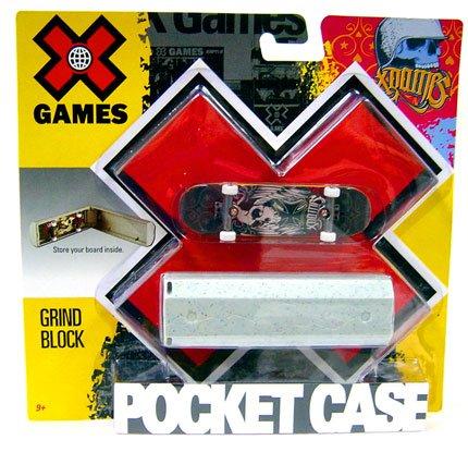 X Games Extreme Sports Skateboard Pocket Case Grind Block