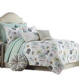 Beach Themed Comforter Sets Brandream Ocean Bedding Set Seashells, Beach Themed, Nautical Bedding Queen Comforter Set