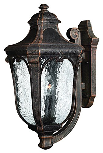 Hinkley 1315MO Traditional Three Light Wall Mount from Trafalgar collection in Bronze/Darkfinish,