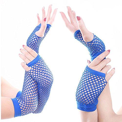Fingerless Fishnet Warmer - 8