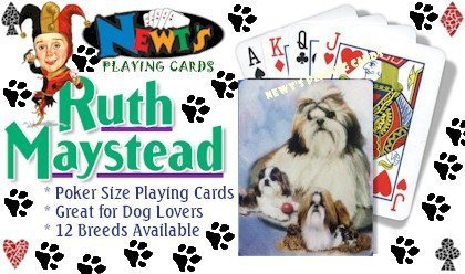 SHIH TZU DECK OF CARDS - BEST FRIENDS BY RUTH MAYSTEAD