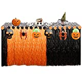 108'' X29'' Halloween Table Skirt,Tablecloth Luau Table Skirt Party Decorations