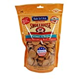 Smokehouse 100-Percent Natural Prime Chips Chicken and Beef Dog Treats, 16-Ounce, My Pet Supplies