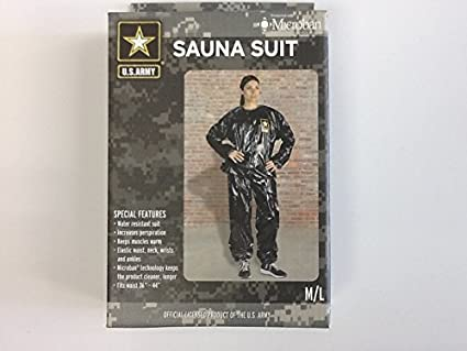 Amazon.com: U.S. Ejército resistente al agua traje de sauna ...