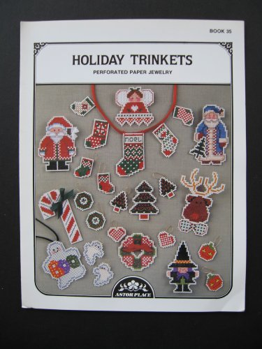 Holiday Trinkets Perforated Paper Jewelry Cross Stitch Patterns Book 35 ()