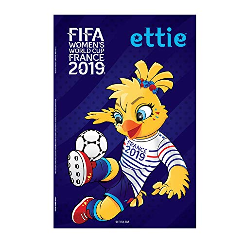 FIFA Women's World Cup 2019 | Official Mascot Poster | Ettie