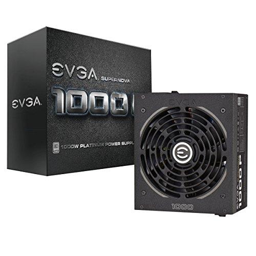 EVGA Supernova 1000 PS, 80+ Platinum 1000W, Fully Modular, EVGA ECO Mode, 7 Year Warranty, Includes Free Power On Self Tester, Power Supply 220-PS-1000-V1